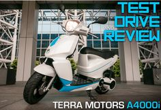 TEST DRIVE & REVIEW: Terra Motor's A4000i iPhone-Connected Electric Scooter