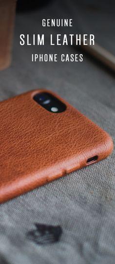 Custodia Per iPhone X in Pelle Mujjo Nera - Full Leather Case 2018