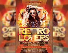 """Check out new work on my @Behance portfolio: """"Retro Lovers"""" http://be.net/gallery/34643555/Retro-Lovers"""