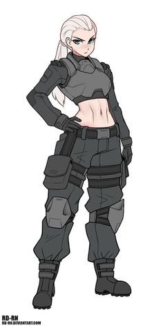 Female Character Design, Character Design References, Character Drawing, Character Design Inspiration, Character Reference, Dnd Characters, Fantasy Characters, Female Characters, Anime Military