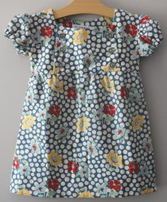 """Vintage Hazel Dress"" A Baby Gardner exclusive.   Shy little Hazel looks like she tip-toed right out of the 1950s in her favorite cotton dress. Comfortable as it is pretty.    SERIOUSLY need this for Hazel!!! It's meant to be! haha"