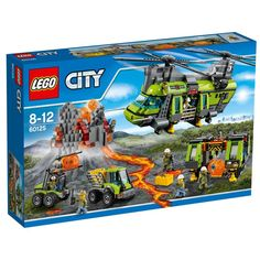 LEGO City Volcano Heavy-lift Helicopter 60125 image-0  £99