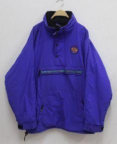 RARE Vintage années 90 Quiksilver Ski Pullover Jacket Xl Hip hop swag Made in l