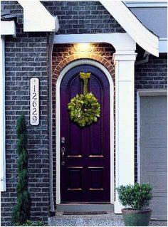 Цвет входной двери. Как правильно выбрать цвет | tobehome.ru