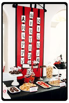 Hi Ya! Ninja Birthday Party! | | Kara's Party IdeasKara's Party Ideas