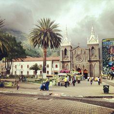 Baños, Ecuador at La Casa del Árbol