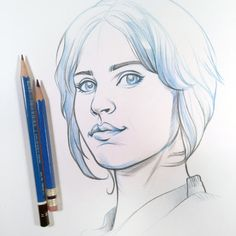 Jyn Erso from Rogue One by DMAC's Art Blog