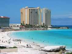 Cancun Beaches are among the most beautiful in the world. Cancun is located on the northeastern tip of the Yucatan Peninsula only 90 minutes by plane from Miami, Florida. Vacation Places, Vacation Destinations, Vacation Trips, Dream Vacations, Vacation Spots, Places To Travel, Cancun Mexico, Cozumel, Tulum