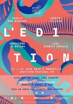 Affiche l'édition festival