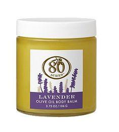 80 Acres Lavender Olive Oil Body Balm 3.75 oz 80 Acres