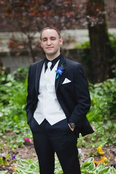 Groom's attire - Michael Kors Suit