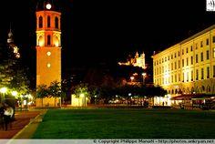 Nocturne : Place Antonin Poncet, Lyon (Rhône-Alpes)