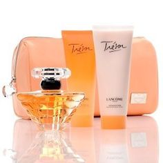 Lancome Tresor Hearts Collection by Lancome Tresor Hearts Collection Set. $77.99. Lancome Tresor Hearts Collection Gift Set. Tresor Hearts Collection Lancome Lancome Tresor Hearts Collection Gift SetLove. Romance. Elegance. Trésor is for a woman who understands that time is precious and moments in this fast-paced world are to be treasured. The elegance of rose, mugent and lilac, and the sparkle of peach and apricot blossom are just a few notes that define this lumino...