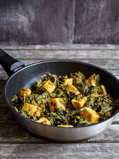 Pan of Saag Tofu | Indian Food | Discover Delicious
