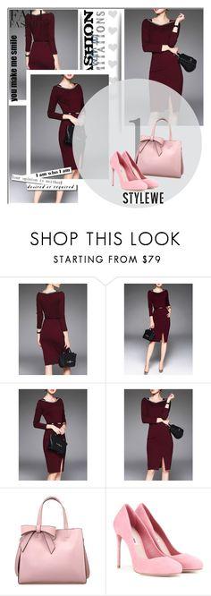 """Stylewe 11"" by ajisa-ikanovic ❤ liked on Polyvore featuring Miu Miu, MANGO and stylewe"
