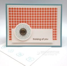 such a cute and quick card by Mary Fish