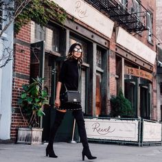 Pin for Later: Solve 2016's Outfit Dilemmas Before They Happen With These 45 Fashion Hacks Wear a Nonbasic All-Black Look