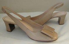 NEW Tahari nude formal sandals Sz 7.5 M