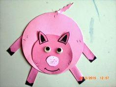 Ημέρα παιδικού βιβλίου - εβδομάδα φιλαναγνωσίας: 3 γουρουνάκια εναντίον λύκου Daycare Crafts, Animal Crafts, Spring Crafts, Activities For Kids, Bb, Craft Ideas, Garden, Farmhouse, Animales