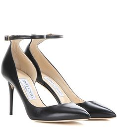 Jimmy Choo Lucy 85 Leather Pumps For Spring-Summer 2017