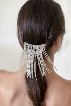 Pettine nuziale dei capelli  Accessorio nuziale di JonidaRipani
