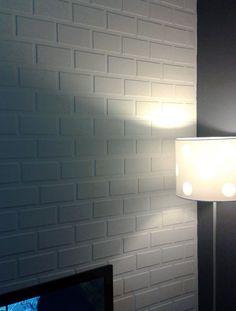 O resultado é muito legal e a sua parede agradece.