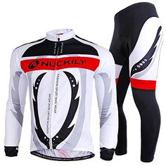 NUCKILY Mens Gladiators Design Cycling Jersey Set Quik Dry Sport Apparel  Large     Check 3c8b822a8