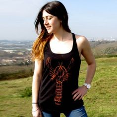 Larry the lobster womens vest