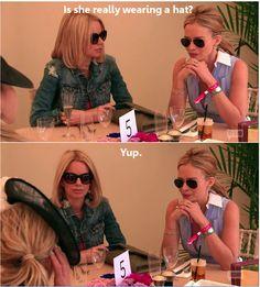 Ladies of London: Caroline Stanbury and Marissa Hermer - my 2 favorites