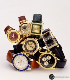 Photo taken for a watch catalog for Foley's department store, by Joe Gaudet of Tampa Bay, FL. GaudetPhoto.com