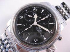 ORIS Big Crown Chronograph Automatic Date Mens Watch 7657