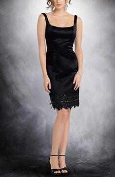 Sheath Square Knee-length Sleeveless Little Black Dresses  Style Code: 04981  US$85.00  http://www.outerinner.com/sheath-square-knee-length-sleeveless-little-black-dresses-pd-04981-11.html  #littleblackdresses #LBD