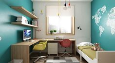 Three Cozy & Colorful Modern Apartments