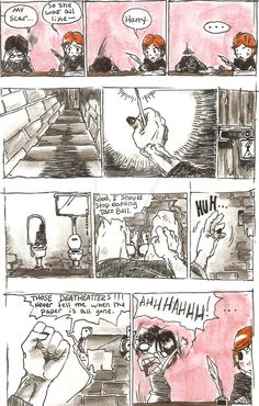 Harry Potter Comic by Chabroni on DeviantArt Harry Potter Comics, Deviantart, Abstract, Artwork, Summary, Work Of Art, Harry Potter Cartoon