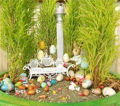 Great Easter Mini Garden