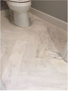 Ideas For Bathroom Floor Tile Herringbone Grout Ideas For Bathroom Floor Tile Herringbone Grout - Marble Bathroom Dreams Marble Bathroom Floor, Stone Bathroom, Bathroom Flooring, Floor Grout, Upstairs Bathrooms, Master Bathroom, Downstairs Bathroom, Small Bathroom, Herringbone Tile Floors