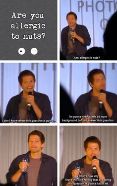 This is why Misha Collins is life @mishacollins