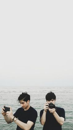 Tay tawan & new My Kind Of Love, Im In Love, Thailand Wallpaper, My Best Friend, Best Friends, Boys Wallpaper, Thai Drama, Handsome Faces, Best Couple