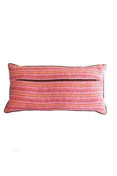 tangier stripe pillow by heidi merrick | $165