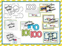 More 100th Day of School activities