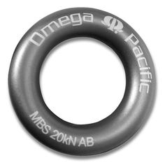 Rappel Ring. As describe here - http://apocalypseequipped.blogspot.com/2012/03/review-omega-pacific-rappel-rings.html