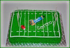 Virginias Cake: TARTA DE CAMPO DE RUGBY http://www.virginiascake.com/portfolio-items/tarta-campo-de-rugby-tommy/