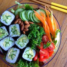 Sushi + Salad