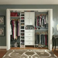 Home Depot closet organizer - the reviews are not the best, but the ...