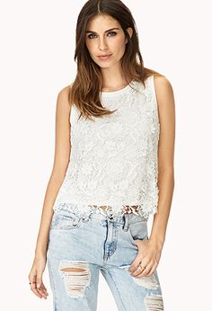 Retro Floral Top   FOREVER 21 - 2000071108