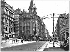 Vintage Architecture, Old World, Street View, Bs As, Argentina, Antique Photos, Countries, Cities, Architecture