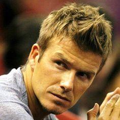David Beckham Faux Hawk Haircut