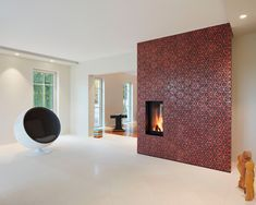 KARAK tiles @bentlage Foto: Daniel Wagner Floors, Tiles, Divider, Objects, Interior, Wall, Red, Furniture, Home Decor