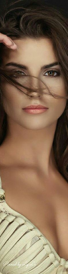 The makeup :) -HF