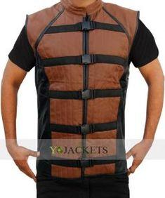 NewAmericanJackets proudly presents the John Crichton Farscape Vest. Buy this amazing Farscape John Crichton Leather Vest with free gifts & shipping also. Leather Vest, Real Leather, Black Leather, Jacket Style, Vest Jacket, Indiana Jones Jacket, Western Vest, Outdoor Vest, Shops